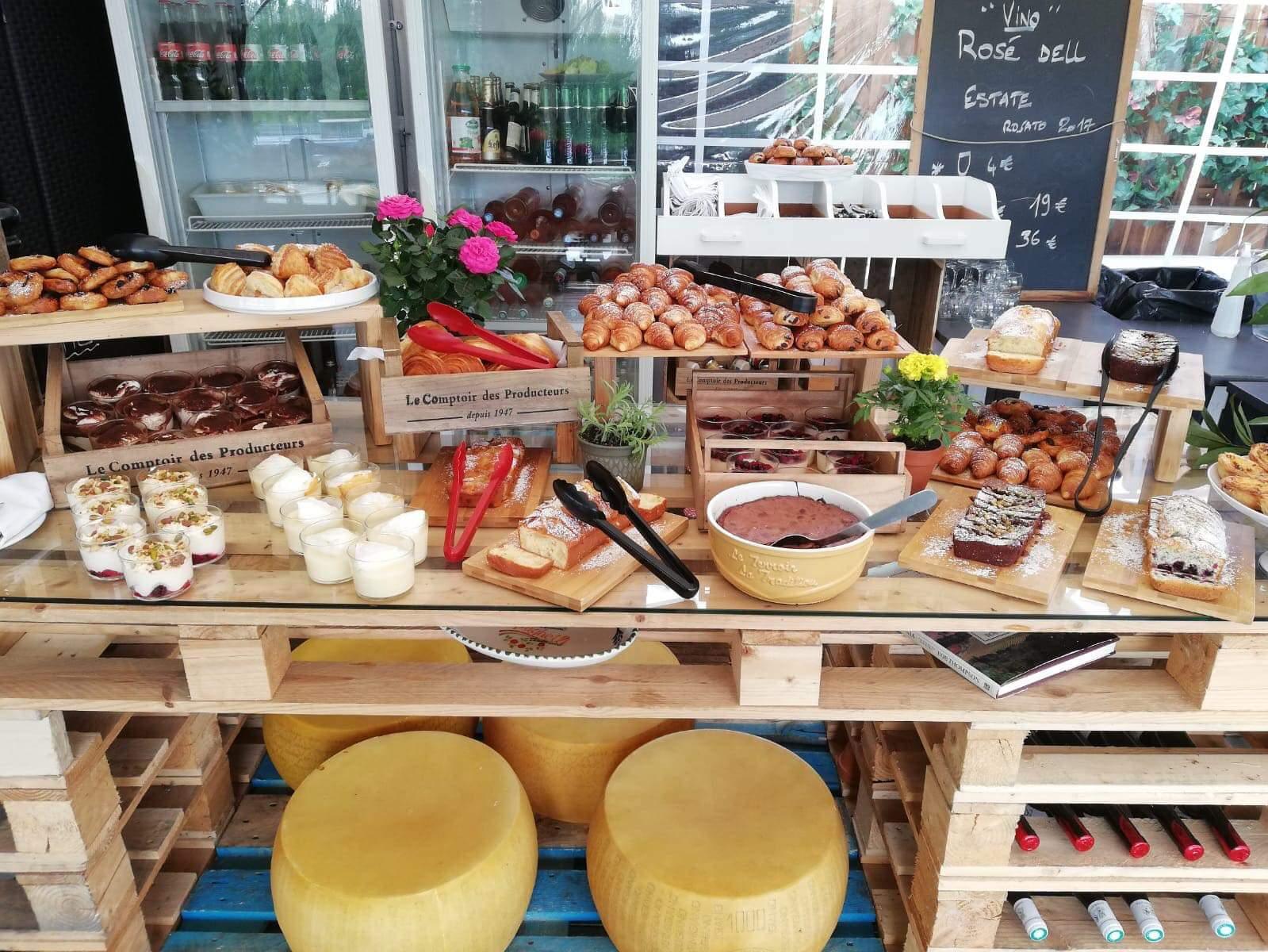 Restaurant avec terrasse à Paris